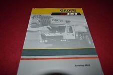 Grove GMK4090 Hydraulic Crane Dealer's Brochure DCPA6