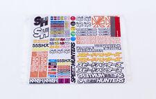 Speedhunters RC Auto Adesivo Foglio - # 2 per 1/10 Scala RC CONCHIGLIE * MERCH ufficiale
