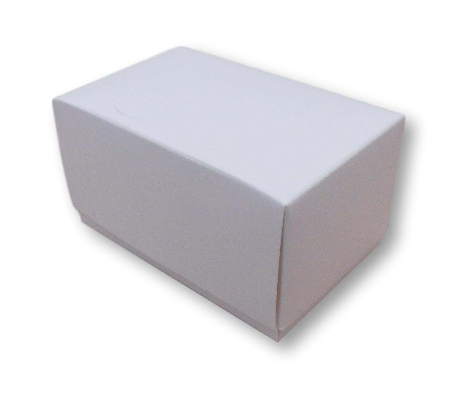 100 Weiß BOXES, BUSINESS CARDS ,GIFTS, CAKES, FAVOURS, JEWELLERY ETC ETC ETC a5b433
