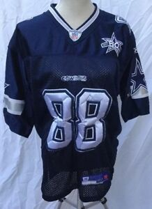 best authentic feadd d0e3a Details about Dez Bryant 50th Blue Dallas Cowboys Jersey Authentic Reebok  Size 50