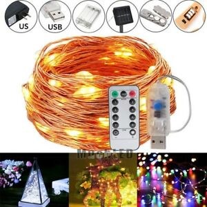 LED-Copper-Wire-Strip-Firework-String-Fairy-Light-Wedding-Xmas-Party-Home-Decor
