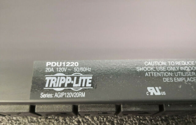 Tripp Lite PDU1220 Power Distribution Unit 120V