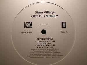 SLUM-VILLAGE-GET-DIS-MONEY-BLACKMAN-HOME-12-034-1999-RARE-JAY-DEE