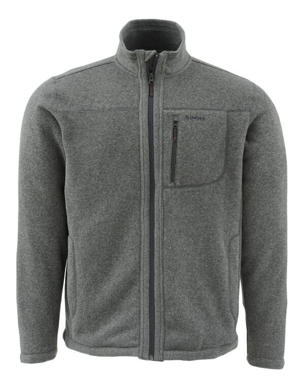 Simms RIVERSHED Sweater Full Zip  Dark Shadow NEW  Größe 2XL  CLOSEOUT