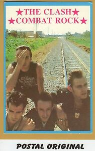THE-CLASH-COMBAT-ROCK-POSTAL-NUEVA-SIN-SELLAR-POSTCARD-NEW-UNPOSTED