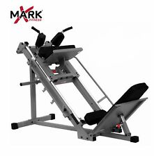 Xmark Fitness Leg Press Hack Squat Lower Body Strength Exercise Machine XM-7616