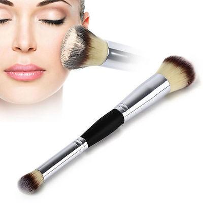 Double Head Professional Multifunction Cosmetics Eyeshadow Blush Makeup Brush
