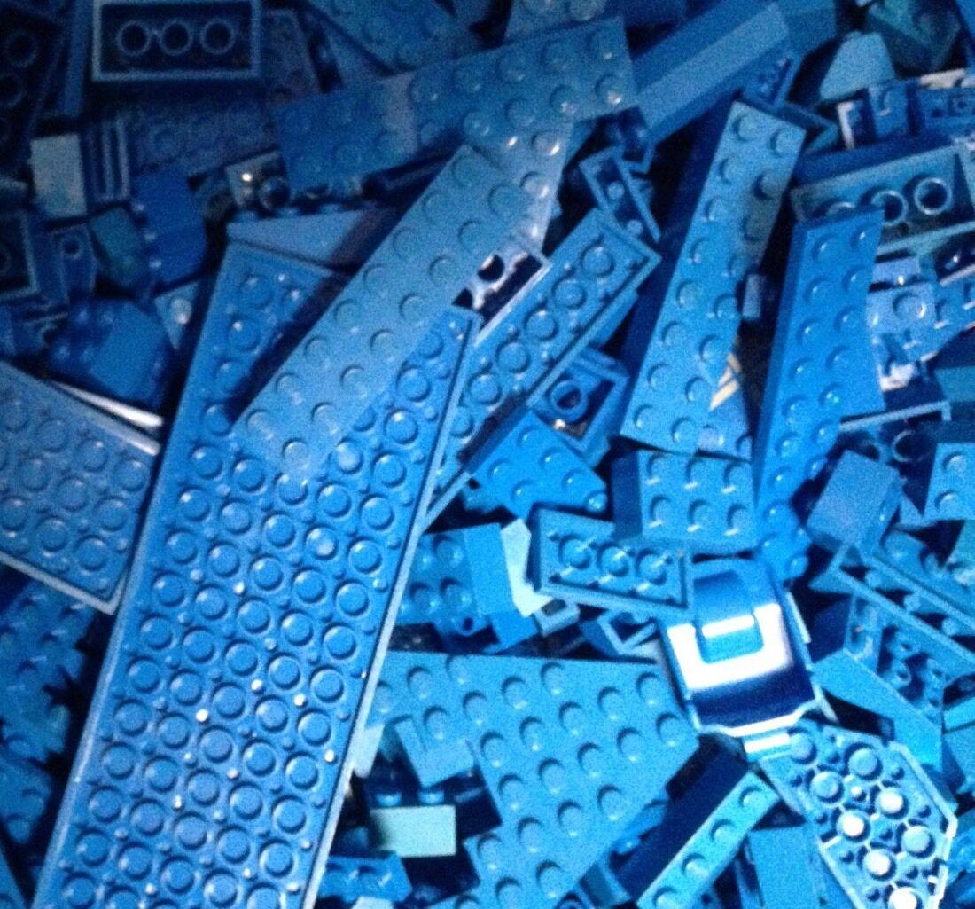 Lot de 400 Random bleu LEGO PIECES & Pièces     construire W-en vrac bleu lego briques  prix de gros et qualité fiable