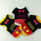 Dog&Cat Clothes Minnie Mickey Disney Costume Shirts_A311