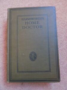 Harmsworth-039-s-Home-Doctor-Old-Book-Hardback-799-Pages-5000-Illustrations-Vol-5