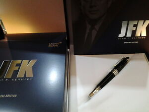 MONTBLANC-JOHN-F-KENNEDY-SPECIAL-EDTN-FOUNTAIN-PEN-M-NIB-111045-NEW