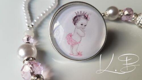 qualsiasi nome * Bling Rosa Shamballa Romany dummy clip girl * Royal Baby Principessa