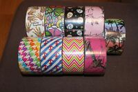 Duck Brand Designer Duck Tape Rolls- Brand - Pick From Patterns Listed