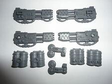 Warhammer 40k SPACE MARINE LAND RAIDER flamestorm cañón nuevo y sin edificar Bits