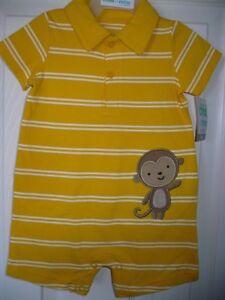 Baby Boys Monkey Long Sleeve Top Monkey LAST FEW SALE PRICE 0-3 3-6 Months