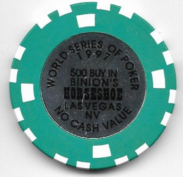 Binions Horseshoe  500 Buy In 1997 NCV Chip  Las Vegas Nevada