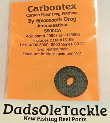 6000 C3C4 Reel Carbontex Drag Washers Abu Garcia AMBASSADEUR 5500CA 4000,5000
