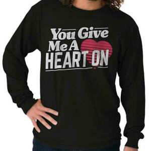 Be my One Night Stand Adult Mens Long Sleeve Shirt Valentine/'s Day Humor