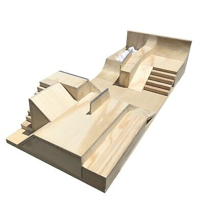 Reed Ramps Handmade Wooden Fingerboard Obstacle Ramp A frame Hand Rail