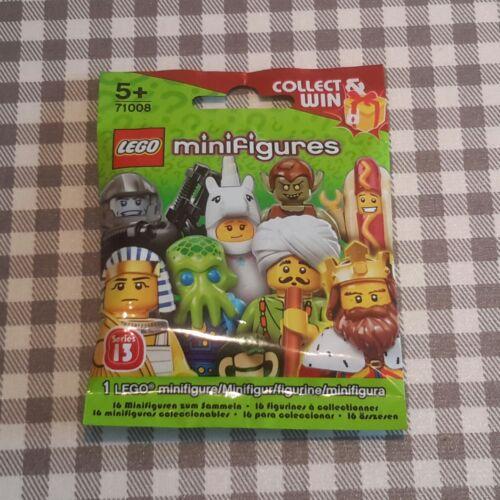 Lego hot dog guy series 13 unopened new factory sealed
