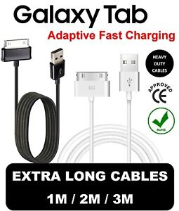 """USB DATA CABLE SAMSUNG GALAXY Tab 2 CHARGER CHARGING Tablet 7/"""" 8.9/""""10.1"""