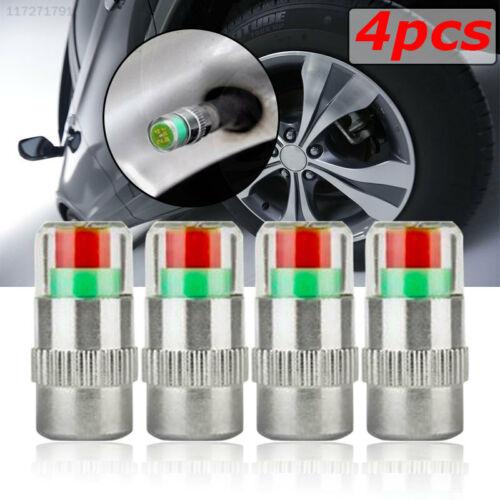 7592 4Pcs//Set Tire Pressure Valve Stem Tire Pressure Valve Tyre Safety Warning