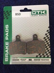 Go-Kart-OTK-BSD-brake-pad-set-for-401s-Chassis-BRAND-NEW