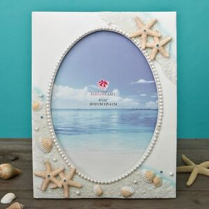 Glorious Hand painted Beach 8 x 10 frame from gifts by PartyFairyBox / FC-12846