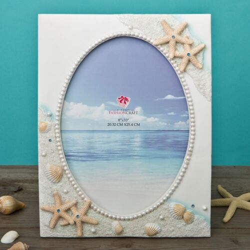 Glorious Hand painted Beach 8 x 10 frame from gifts by PartyFairyBox FC-12846