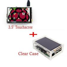 "3.5"" LCD TFT Touch Screen for Raspberry Pi 3 Model B Board + Acrylic Case"