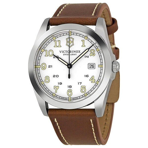 Victorinox Swiss Army Infantry White Dial Mens Watch 241564