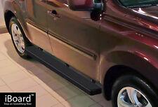 """Premium 5"""" Black iBoard Running Boards Fit 09-15 Honda Pilot"""