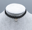 NEW child clavicle chain girl lace black Weaving ribbon  Wild necklace