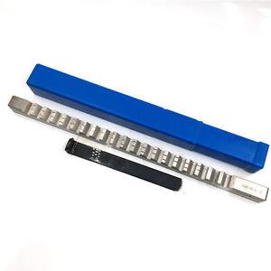 "Keyway Broach 7//8/"" F Push Type 7//8 Inch Size HSS Cutter Machine CNC"
