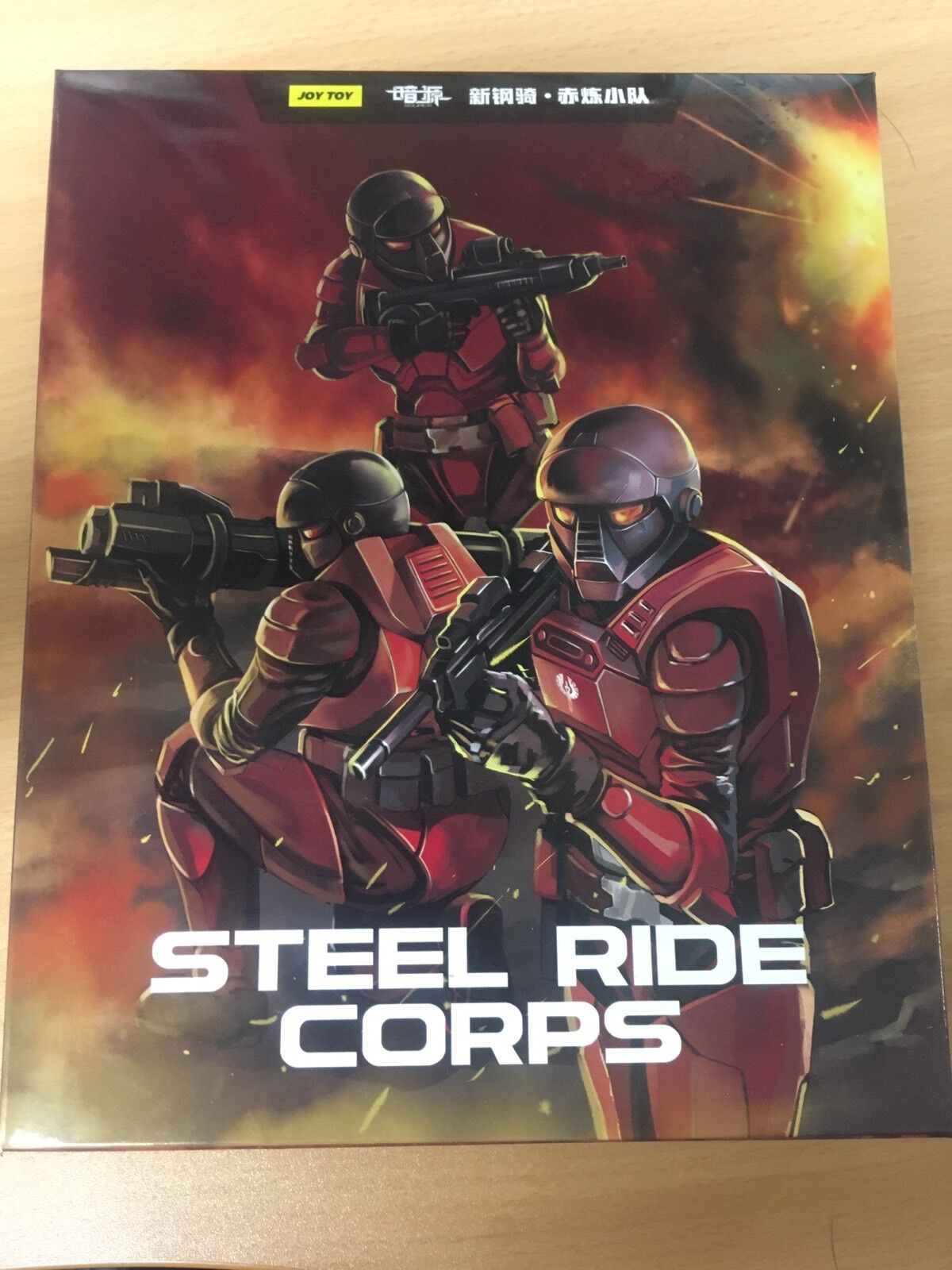 JOY TOY 4th Generation  New Honed Steel Ride Corps 1 27 Action Figures