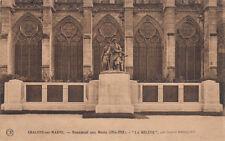 """CHALONS-SUR-MARNE monument aux morts """"La relève"""" par Gaston Broquet 2"""