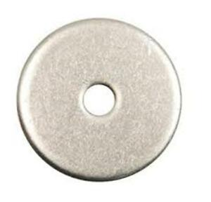 316 Stainless Steel Fender Washer 1//4 x 1 Qty 25