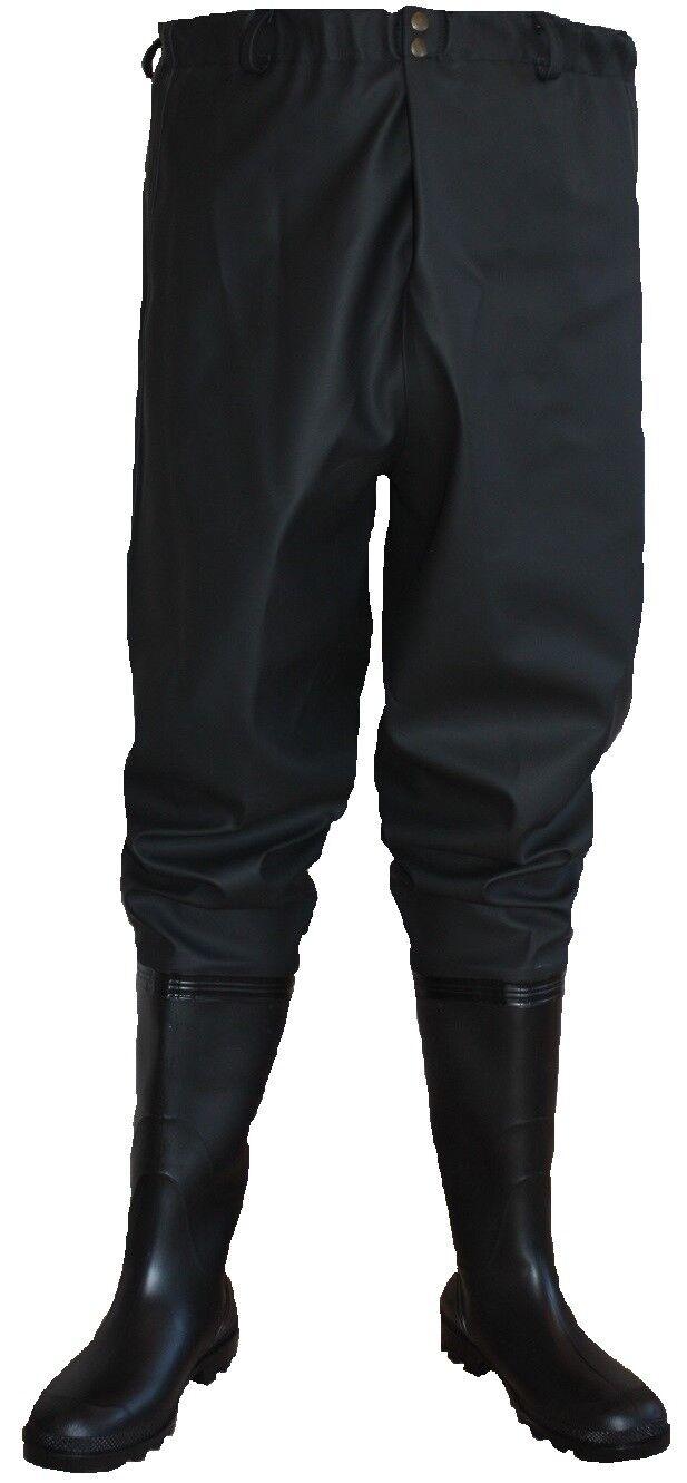 Wathose  bis zur Tail Watstiefel  black und green    Angeln Hosen  general high quality