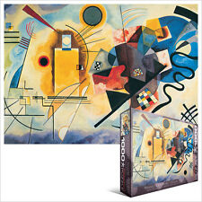 JIGSAW EG60003271 Eurographics Puzzle 1000 Pc Yellow, Red Blue Wassily Kandinsky