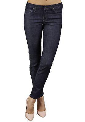 Lee Scarlett Ladies Stretch Jeans High Womens Skinny Leg Blue Indigo Faded Denim