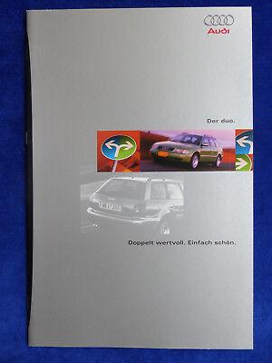 Audi A4 Avant Duo - Hybrid Diesel Tdi E-motor - Prospekt Brochure 10.1996 Neueste Technik