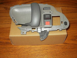 Chevy Silverado Inside Interior Door Handle Gray Left 1995 1996 1997 1998 1999 Ebay