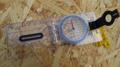 Herbertz Plattenkompass Peilkompass Kompass Kompaß Taschenkompass 702800