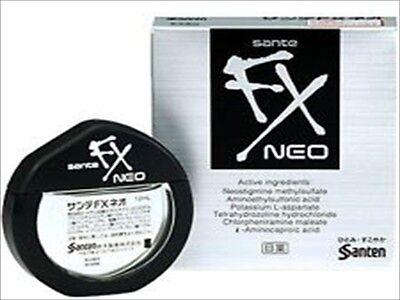 Sante FX Neo Cooling Eye Drops Japanese Eyedrops 12ml F/S Free Shipping