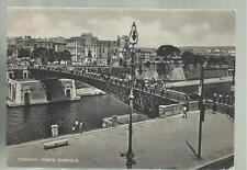 vecchia cartolina di  taranto ponte girevole