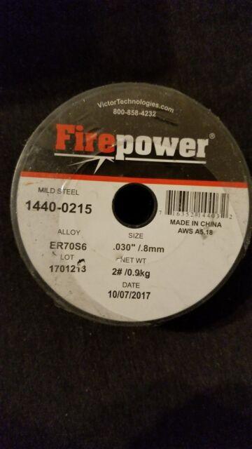 Firepower 1440-0215 Mig Wire .030 2Lb
