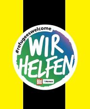 Wir Hilfen Refugees Welcome 2015-16 Bundesliga Football Patch Nameset for shirt