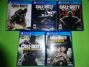 Empty Replacement Cases Call Of Duty Collection Sony Playstation 4 Ps4 47875874589 Ebay