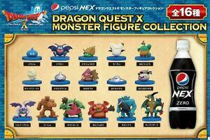 Pepsi-NEX-Japan-Dragon-QUEST-X-Monster-Mini-Spiel-Figur-Sammlung-Set-16-Slime