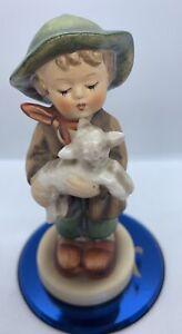 Vintage-1962-Hummel-Figurine-The-Lost-Sheep-Figurine-4-1-2-039-tall